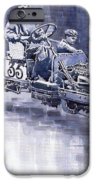 Benz 60HP Targa Florio Rennwagen 1907 iPhone Case by Yuriy  Shevchuk
