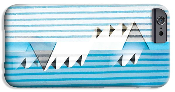 Abstractions iPhone Cases - Bermuda Chimneys 2015 iPhone Case by Thomas Carroll