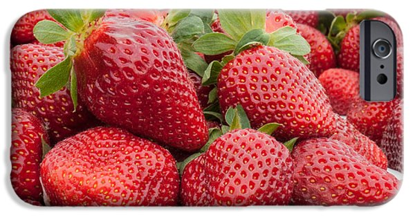 Agricultural iPhone Cases - Berries iPhone Case by Joye Ardyn Durham