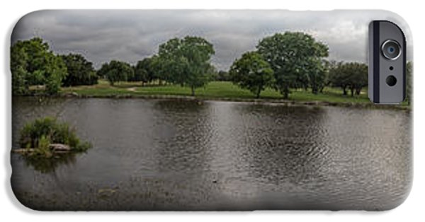 Berry iPhone Cases - Berry Creek panorama iPhone Case by John Johnson