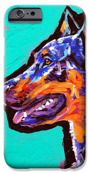 Kids Art Paintings iPhone Cases - best beauce so I boast iPhone Case by Lea