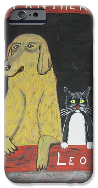 Doghouse iPhone Cases - Best Friends iPhone Case by Jeffrey Koss