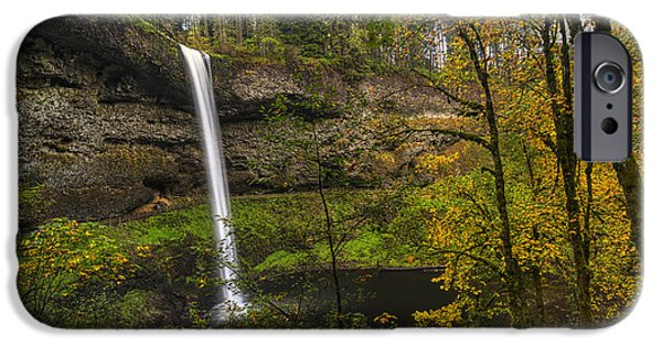 October iPhone Cases - Best of Silver Falls iPhone Case by Mark Kiver
