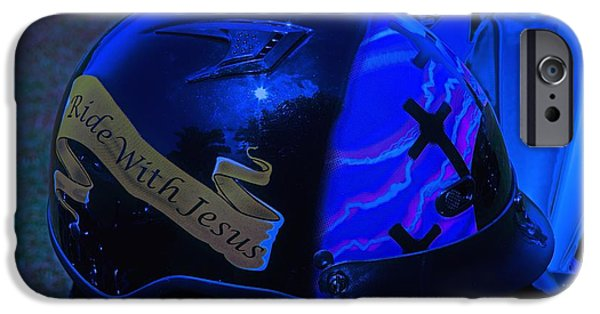 Religious iPhone Cases - Best rider coverage iPhone Case by Dennis  Baswell