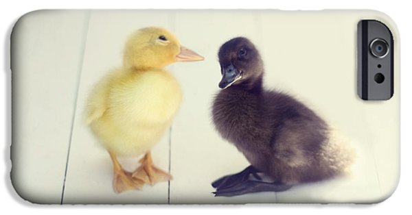 Duckling Photography iPhone Cases - Besties iPhone Case by Amy Tyler
