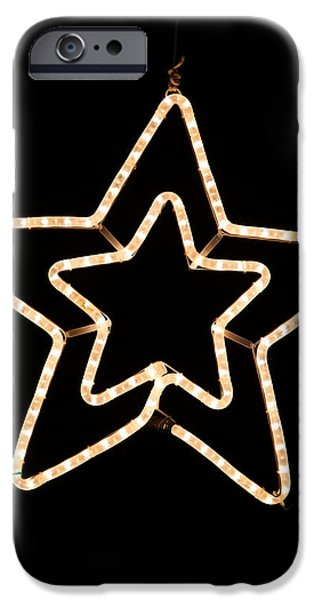 Star Of Bethlehem iPhone Cases - Bethlehem Star iPhone Case by Unknown