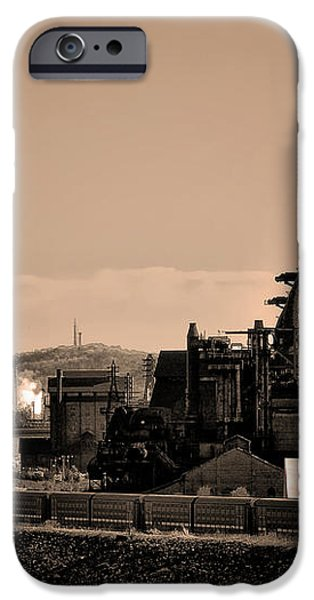 Bethlehem Steel iPhone Case by Bill Cannon