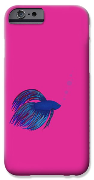 Betta iPhone Cases - Betta Fish iPhone Case by Sharon Norman