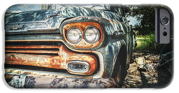 Old Cars iPhone Cases - Better Days II iPhone Case by Jeff Mize