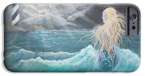 Angel Mermaids Ocean iPhone Cases - Beyond iPhone Case by Angel Fritz