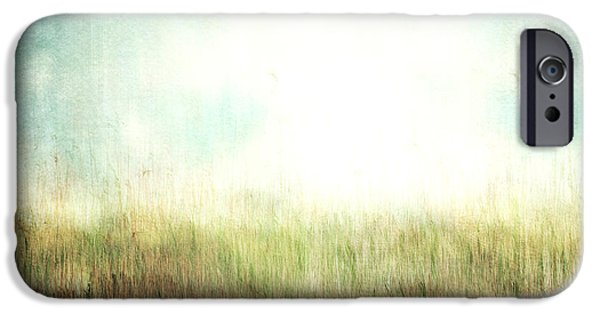 Nature Abstract iPhone Cases - Beyond The Path iPhone Case by Violet Gray