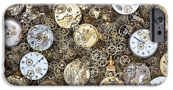 Watch Parts iPhone Cases - Beyond Time iPhone Case by Tim Gainey