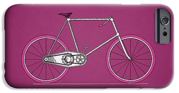 Vintage Bicycle iPhone Cases - Bicycle 1895 iPhone Case by Mark Rogan