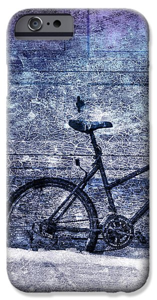 Bicycle iPhone Case by Evelina Kremsdorf