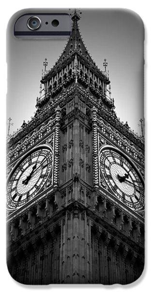 The Clock iPhone Cases - Big Ben iPhone Case by Kamil Swiatek