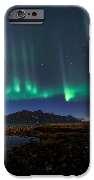 Lighthouse iPhone Cases - Big Dipper iPhone Case by Tor-Ivar Naess
