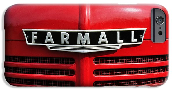 Recently Sold -  - Agricultural iPhone Cases - Big Red Farmall iPhone Case by Luke Moore