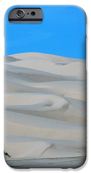 Big Sand Dunes in CA iPhone Case by Susanne Van Hulst