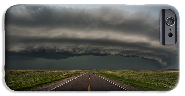 Recently Sold -  - Raining iPhone Cases - Big Springs Nebraska iPhone Case by Colt Forney
