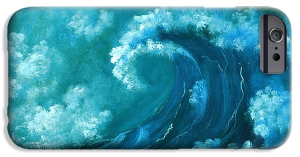 Caribbean iPhone Cases - Big Wave iPhone Case by Anastasiya Malakhova