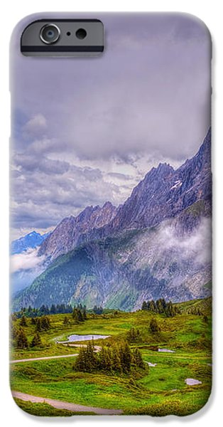 Grindelwald iPhone Cases - Bike Lane  iPhone Case by Susan Dost