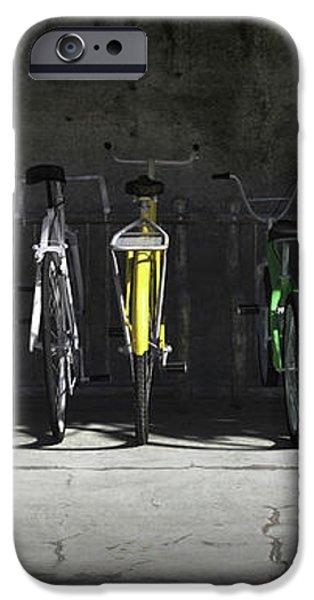 Bike Rack iPhone Case by Cynthia Decker