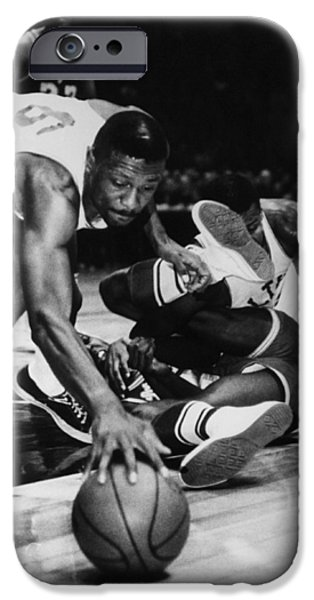 BILL RUSSELL (1934- ) iPhone Case by Granger