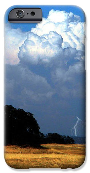 Billowing Thunderhead iPhone Case by Frank Wilson
