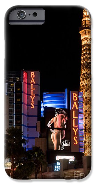 Bills Ballys and Paris iPhone Case by Andy Smy