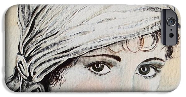 Seductive iPhone Cases - Billy Dove iPhone Case by Barbara Chase