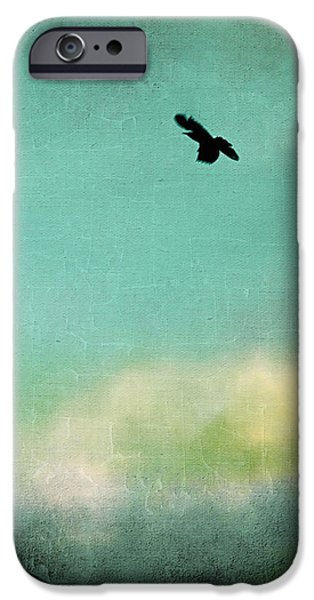 Electrical iPhone Cases - Bird City Revisited iPhone Case by Trish Mistric