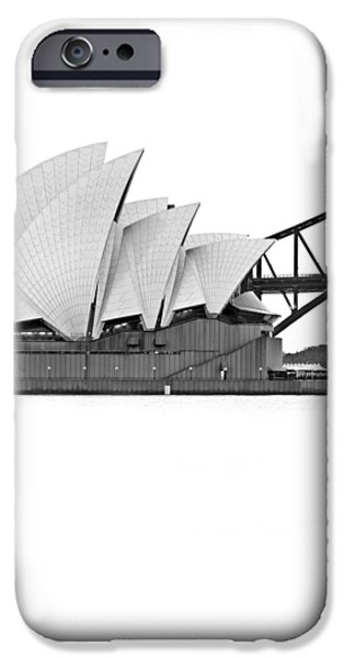 White House iPhone Cases - Bird On The Harbour iPhone Case by Az Jackson