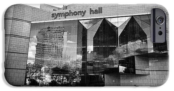 Symphony Hall iPhone Cases - Birmingham symphony hall UK iPhone Case by Joe Fox