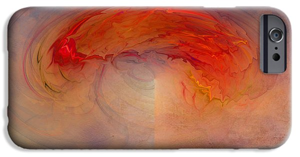 Electrical iPhone Cases - Birth of an Intergalatic Storm iPhone Case by Jan Tyler