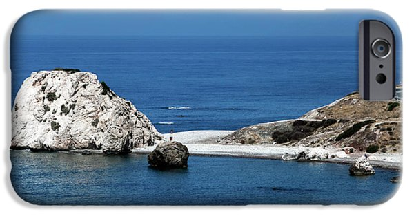 Greek School Of Art iPhone Cases - Birth place of Aphrodite iPhone Case by John Rizzuto