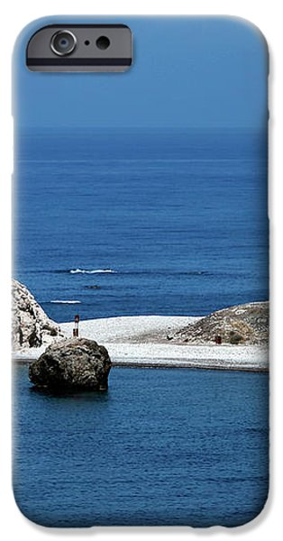 Birth place of Aphrodite iPhone Case by John Rizzuto