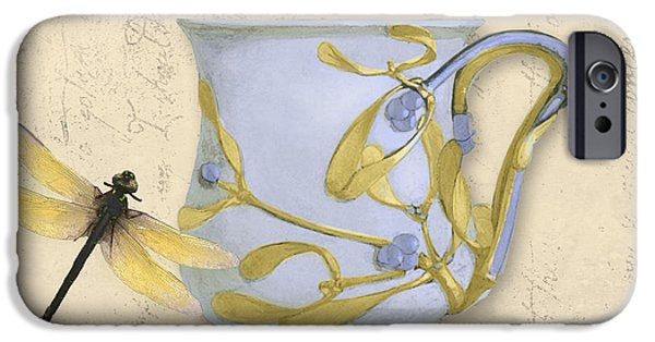 Art Nouveau Style iPhone Cases - Bistro Nouveau II iPhone Case by Mindy Sommers