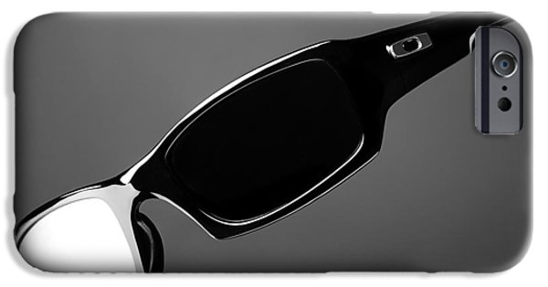 Sunglasses iPhone Cases - Black and White Sunglasses iPhone Case by Noah Katz