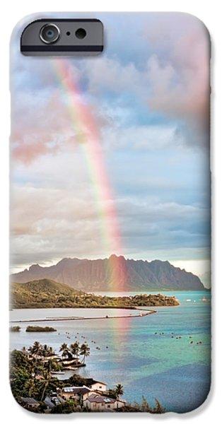 Black Friday Rainbow iPhone Case by Dan McManus