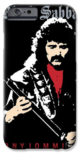 Black Sabbath No.02 iPhone Case by Caio Caldas