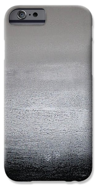 Abstract Seascape iPhone Cases - Black Sand Vertical II iPhone Case by Wendy  Shapiro