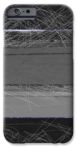 Black Square iPhone Case by Naxart Studio