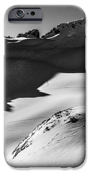 Blackcomb Backcountry iPhone Case by Ian Stotesbury