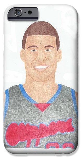 Blake Griffin iPhone Case by Toni Jaso
