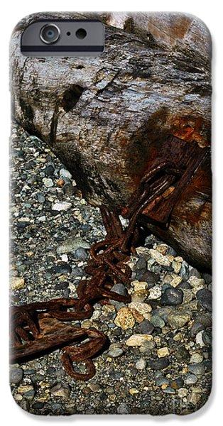 Rust iPhone Cases - Bleeding iPhone Case by Venetta Archer