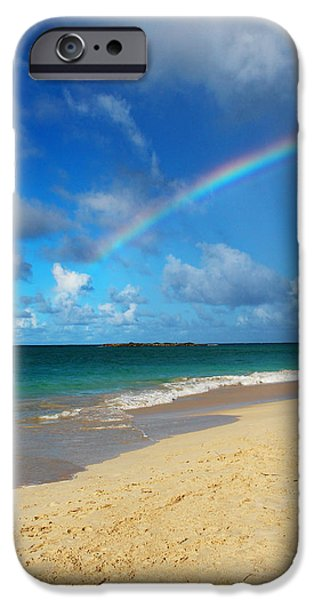 Blessed With A Rainbow iPhone Case by Kerri Ligatich
