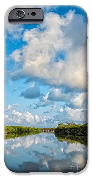 Owner Photographs iPhone Cases - Blind Pass Bowman Beach Sanibel Florida iPhone Case by Edward Fielding