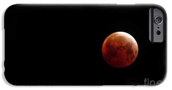 Stellar iPhone Cases - Blood Moon iPhone Case by Chandra Nyleen