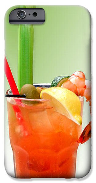 Interior Still Life Digital iPhone Cases - Bloody Mary Hand-Crafted iPhone Case by Christine Till