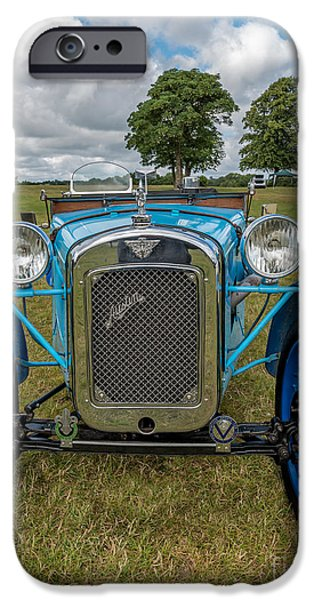 Vehicles iPhone Cases - Blue Austin iPhone Case by Adrian Evans